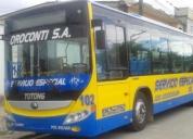 Vendo bus urbano,contactarse.