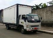 Camion jac 1083. 2014 7.5tn rampa hidraulica.