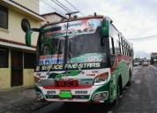 Vendo excelente  bus hino fg 2010