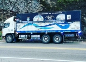 Un camion marca hino2626 fm2014,contactarse.