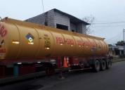 Excelente tanque de transporte de bunker,diesel, agua.