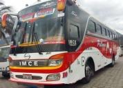 Vendo bus hino ak aÑo 2014. contactarse.