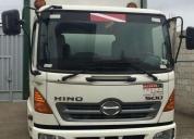 Vendo camion hino gd con furgon termico
