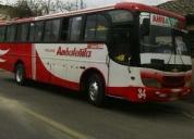 Excelente bus isuzu.