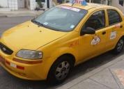 Excelente taxi chevytaxi 2009 con puesto