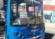 Se vende excelente  bus tipi