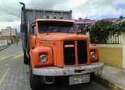Se vende camion scania 110. contactarse.