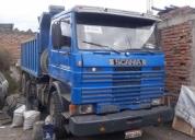 Camion volqueta mula