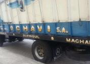 Excelente camión bananero