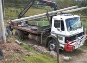Oportunidad! camion grua con brazo hidraulico