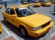 Se vende taxi con acciones y derechos de la compaÑia de taxis