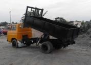 Camión basculante plataforma desmontable 3.5 toneladas.