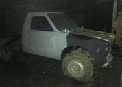 Vendo camioneta nissan junior 1800 4x4 aÑo 81. contactarse.