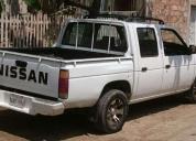 vendo excelente camioneta doble cabina nissan