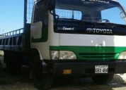 Vendo excelente camión toyota dyna de 4t.