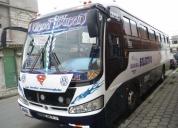 Excelente bus flamante con puesto de trabajo