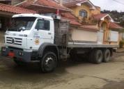 Vendo camión plataforma volkswagen 26310, contactarse.
