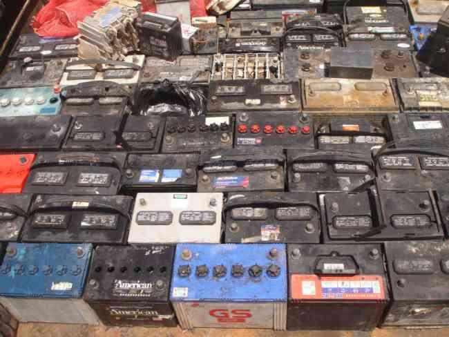 Reciclaje de chatarra metálica, maquinarias, equipos, vehiculos obsoletos...