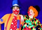 !!show divertidos payasitos payasitas fiestas infantiles baby showers magos mimos $20