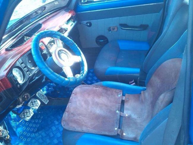 Excelente Fiat Sedan Motor 323 Asientos Nuevos
