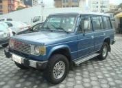 Vendo mitsubishi montero 5p 1988