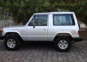 Excelente mitsubishi montero 3 puertas 1987.