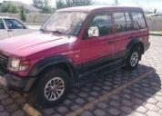 Lindo jeep mitsubishi montero