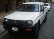 Vendo camioneta mitsubishi l200 4x4 año 2002