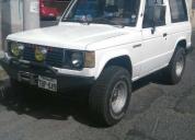 Vendo jeep montero mitsubishi