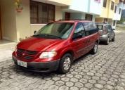 Buena oportunidad! dodge caravan minivan 2007 se2.4l