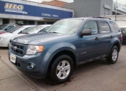 venta de ford escape hibrido 4x4