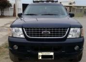 Vendo excelente ford explorer 4x4 tres filas año 2005