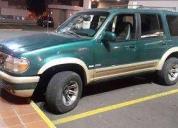 Ford explorer 1995 a toda prueba.