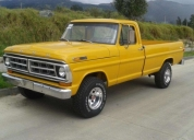 Vendo ford 100 4x4 año 1971.