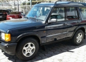 Vendo flamante land rover discovery ii.