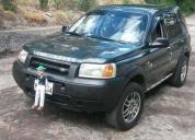 Vendo y cambio exlente land rover frelander aÑo 2000. aprovecha ya!.