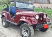 Vendo excelente jeep año 1975