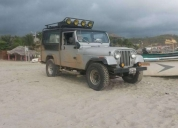 Excelente jeep willys cj8 scrambler 4x4 full extras.