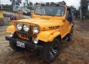 Vendo jeep renegado clásico, contactarse.