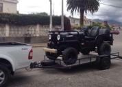 Vendo excelente jeep willys