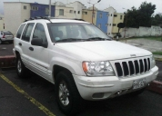 Vendo jeep grand cherokee limited 4x4, aÑo 2002