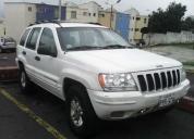 Vendo jeep grand cherokee limited 4x4, aÑo 2002
