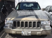 Excelente jeep grand cherokee limited año 1996