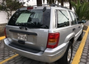 Excelente jeep grand cherokee limited año 2001
