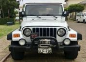 Excelente jeep wrangler sahara