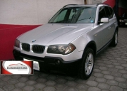 Bmw x3 3.0 2005, flamante, full equipo.
