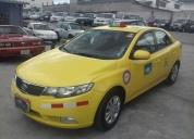 Excelente kia cerato full equipo taxi con puesto