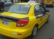 Viendo solo el taxi ejecutivo .