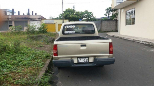 Vendo Camioneta Doble Cabina,mazda 2200, Contactarse.