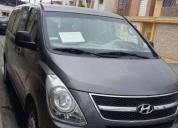 Vendo excelente furgoneta gris hyundai